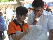 La note plancher du concours universitaire 2013 est connue
