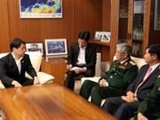 Défense: le Vietnam et le Japon veulent des liens accrus