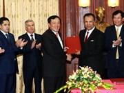 Vietnam-Ouzbékistan: coopération entre les deux organes judiciaires