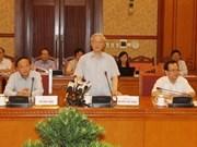 Le secrétaire général engage Kon Tum à accélérer son développement socioéconomique