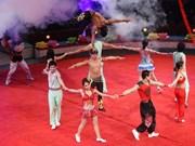 École de cirque cherche élèves sur mesure