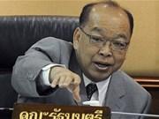 La Thaïlande dépose sa candidature au Conseil de sécurité de l'ONU