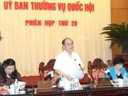 Clôture de la 20e réunion du Comité permanent de l'AN