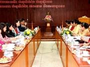 Vietnam-Laos : coopération entre les femmes