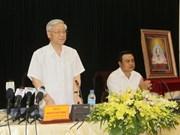 Bac Giang recommandée à mieux exploiter son potentiel