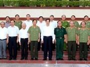 Le PM travaille avec le commandement de la 7e zone militaire