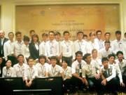 Formation hôtelière à des jeunes en difficulté à Hanoi