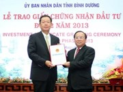 Investissement : 220 millions de dollars à Binh Duong