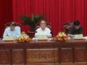 Le président de l'AN inspecte le développement agricole de An Giang