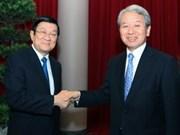 Des dirigeants vietnamiens reçoivent le président de la JICA