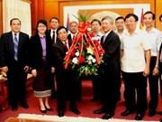 Célébration de la Fête nationale du Vietnam au Laos et en Israël