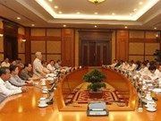 Le chef du Parti enjoint Lai Chau de poursuivre son développement économique