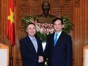 Le Premier ministre reçoit l'ambassadeur du Brunei