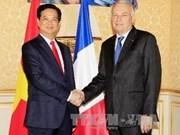 Vietnam-France: établissement d'un partenariat stratégique