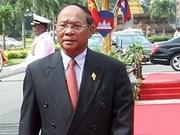 Félicitations au président de l'AN du Cambodge