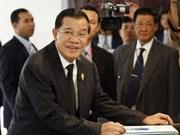 Cambodge : le Premier ministre Hun Sen prête serment