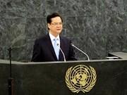 Le PM appelle à un monde sans guerre, sans faim ni pauvreté
