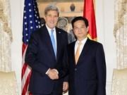 Le PM rencontre le secrétaire d'Etat américain