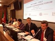 Forum de coopération économique Vietnam-Italie à Milan