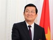 Truong Tân Sang participera au 21e sommet de l'APEC