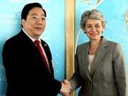 Les contributions du Vietnam appréciées par l'UNESCO