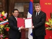 Des documents historiques sur les relations Vietnam-Russie