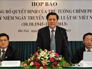 Première Journée traditionnelle des avocats du Vietnam