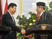 La Chine et l'Indonésie appellent à maintenir la paix en Mer Orientale