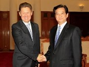 Le président et le PM reçoivent le chef de Gazprom
