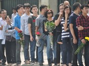 Le peuple rend hommage au général Vo Nguyen Giap