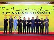 Le PM vietnamien participe au 23e Sommet de l'ASEAN