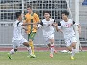 Football : le Vietnam qualifié en finale du Championnat d'Asie du Sud-Est U19