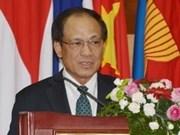 Le secrétaire général de l'ASEAN en visite en Chine