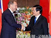 Le chef de l'Etat reçoit un premier vice-PM russe