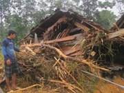 Typhon Nari : soutien aux sinistrés du Centre
