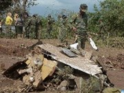 Accident d'avion : messages de sympathie au Laos
