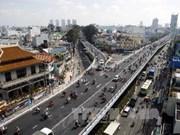 Hô Chi Minh-Ville inaugure un autopont en acier