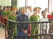 Nghe An: jugement des fauteurs de troubles dans la commune de Nghi Phuong