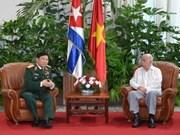 Une délégation militaire du Vietnam à Cuba