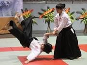 Programme d'entraînement en aïkido à Hanoi