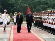 Le président bulgare commence sa visite au Vietnam