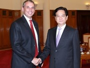 Le PM reçoit le gouverneur du Territoire du Nord de l'Australie