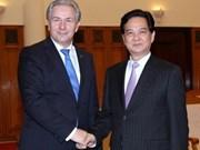 Le PM Nguyen Tan Dung reçoit le gouverneur de Berlin