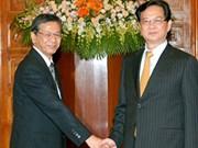 Le PM reçoit le nouvel ambassadeur du Japon