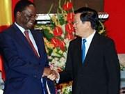 Le Vietnam est prêt à coopérer avec le Congo