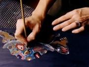 """Exposition de laques poncées """"Le Japon en moi"""" d'un artiste japonais"""