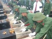 Recherche des restes des soldats vietnamiens tombés au Cambodge