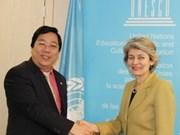 Le Vietnam soutient la réforme de l'UNESCO