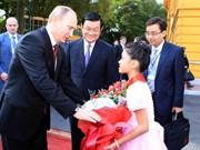 Le président russe achève sa visite d'Etat au Vietnam