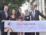"""La """"Course pour les enfants de Hanoi"""" 2013"""